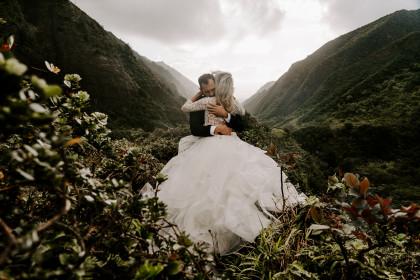 Adventure Elopement with Ciara + Mike | Maui, HI