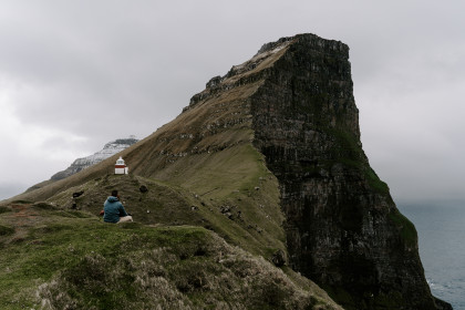 Adventure Session with Alissa + Stephen in the Faroe Islands