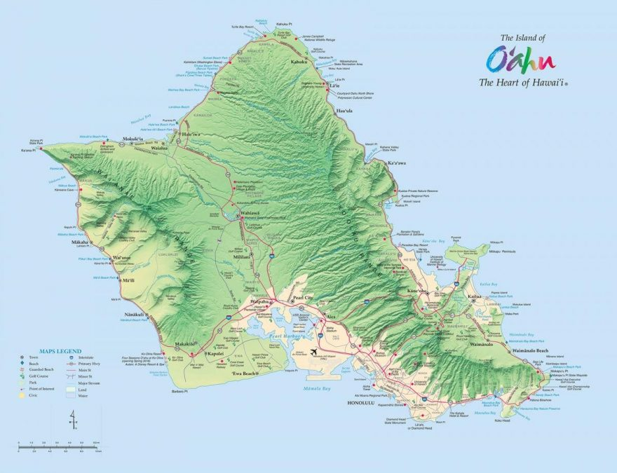Places to stay on Oahu Hawaii