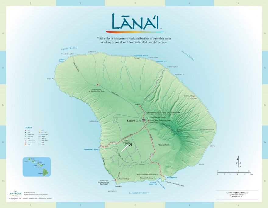 Places to stay on Lanai Hawaii