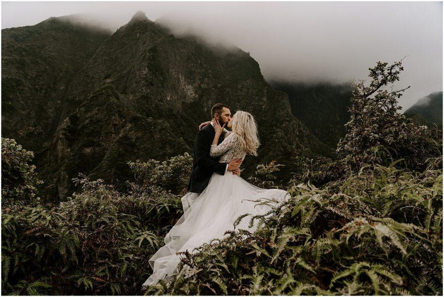 Maui adventure elopement