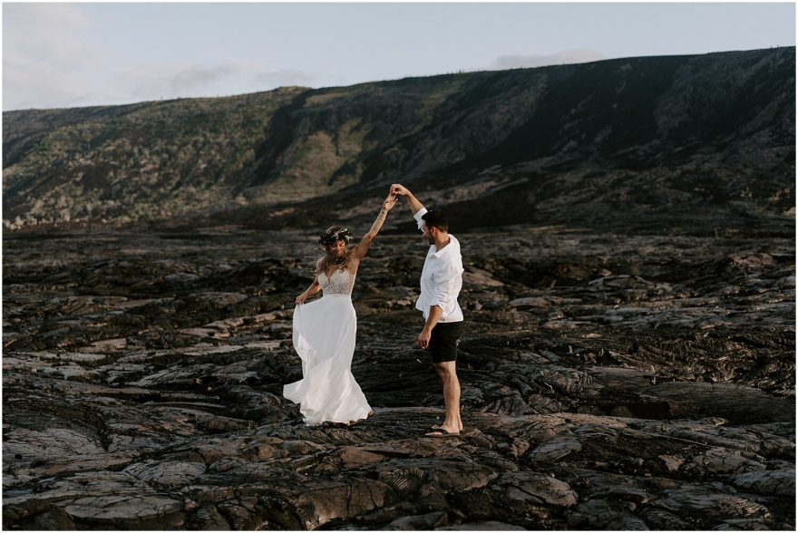 Volcano National Park wedding