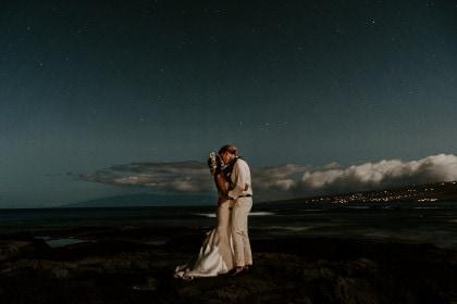 Hawaii Backyard Wedding in Kailua-Kona, HI