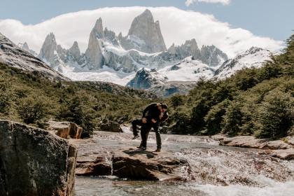 Patagonia Elopement Guide in El Chalten