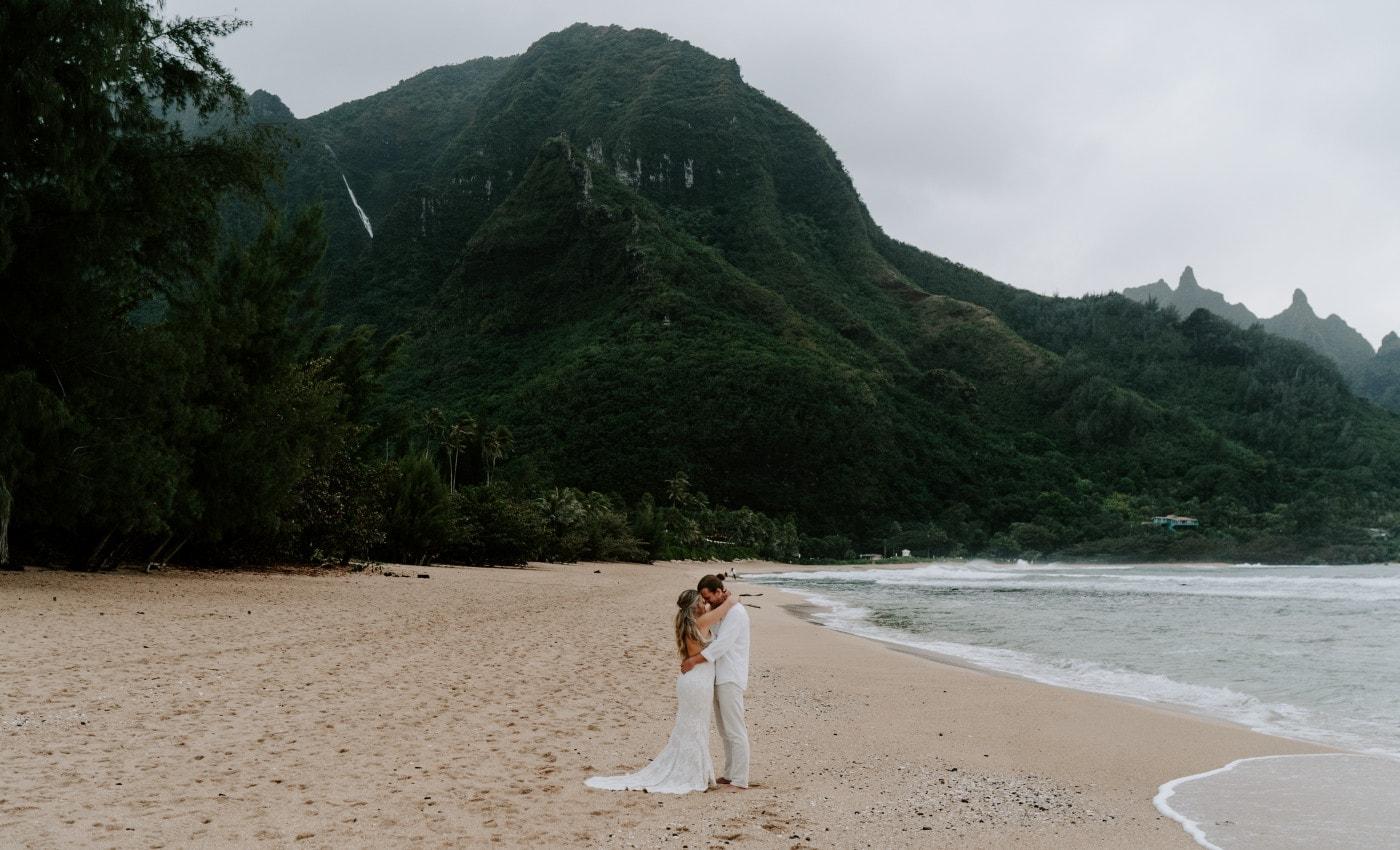 North Shore Kauai Adventure Elopement