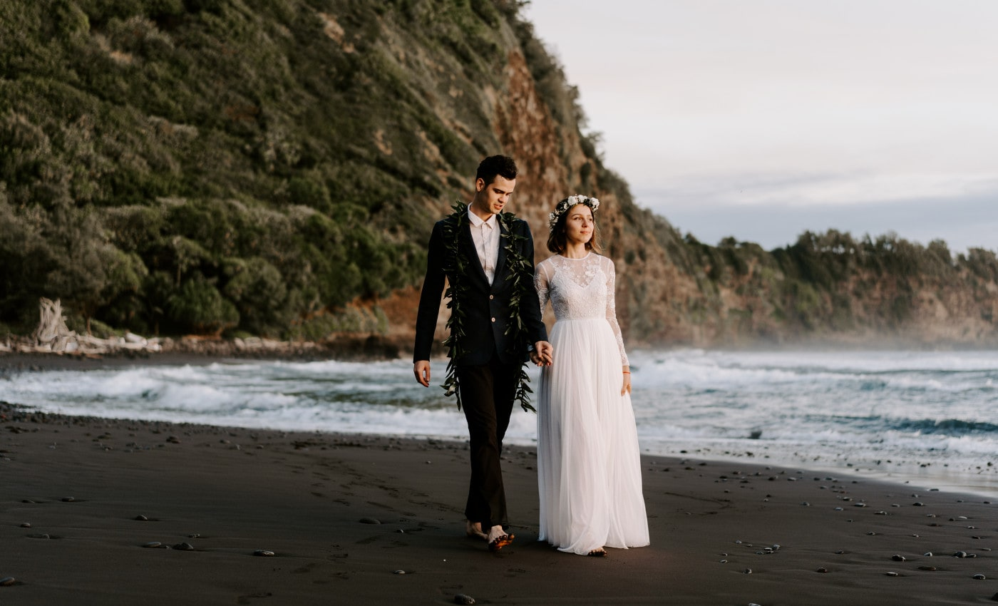 Best Beaches on Big Island For Your Elopement Ceremony