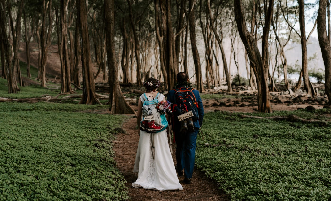 The Best Hikes on Big Island for an adventure elopement