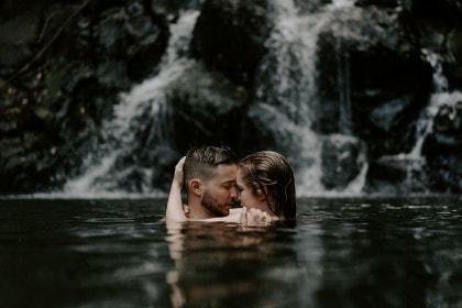 Oahu Waterfall Adventure Session