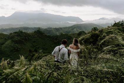 Kauai Ridge Elopement with Lauren and Ryan
