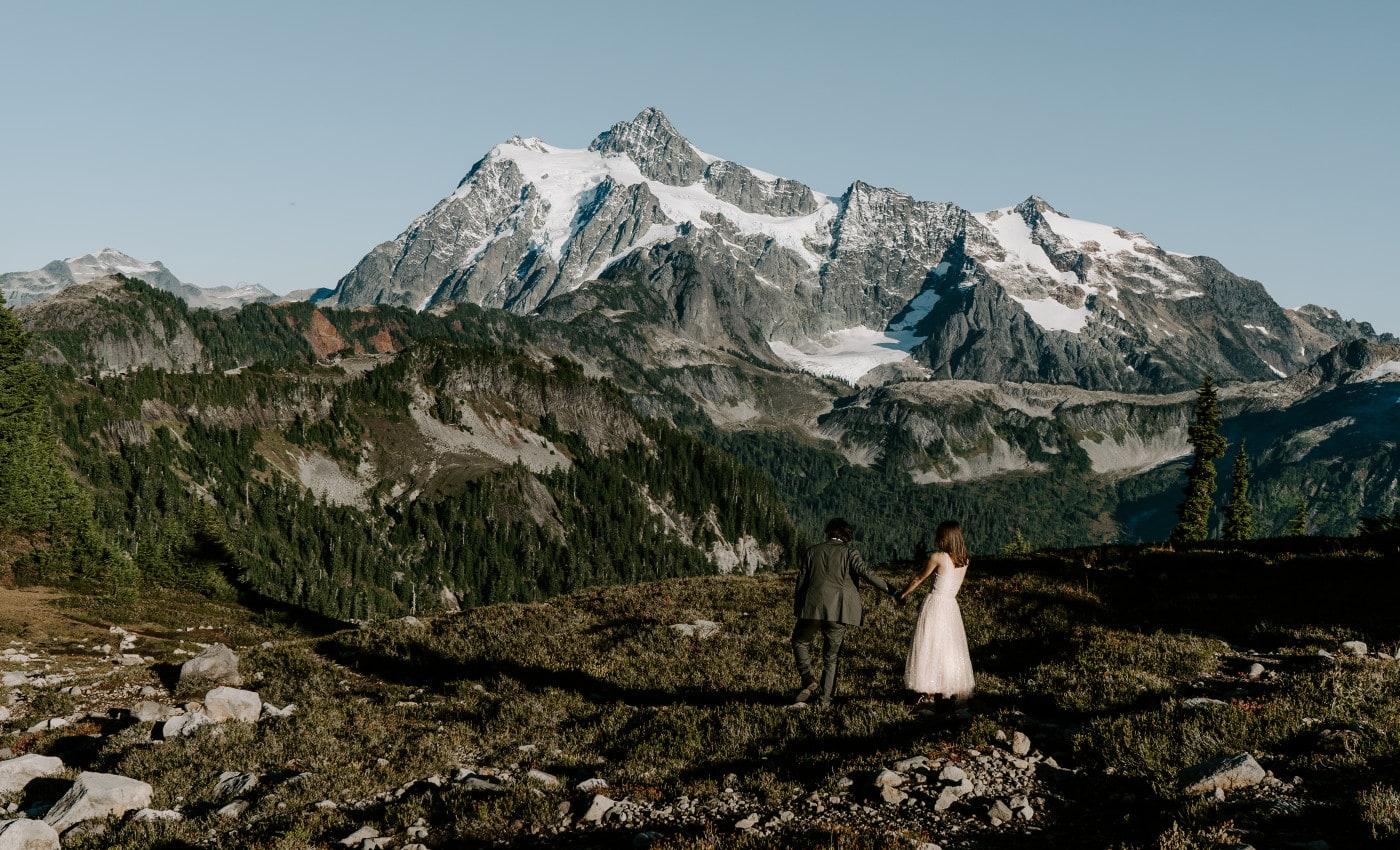 North Cascades Elopement in Washington