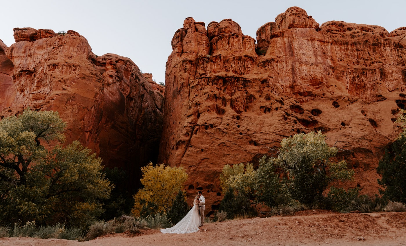 Utah Desert Elopement with Abby and Jesse