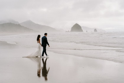 Oregon Coast Elopement with Angel and Kevin